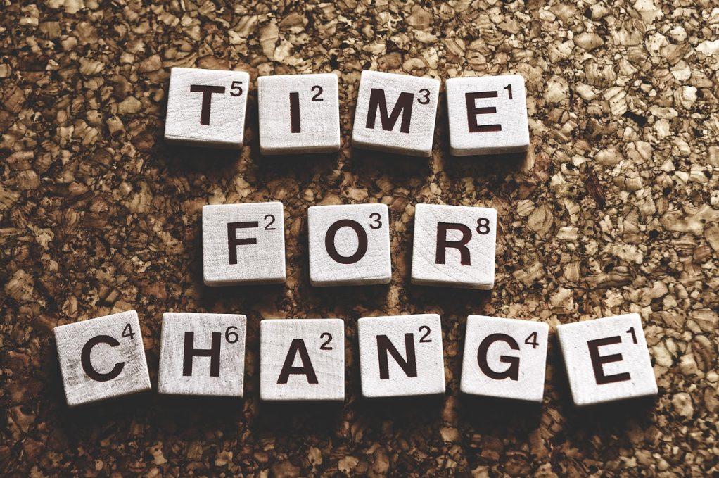 הגיע הזמן לשינוי