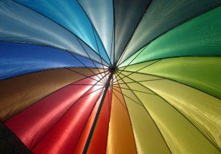 מטריה פתוחה